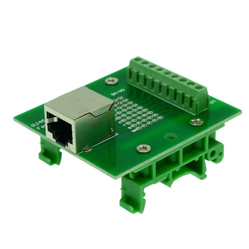 Rj45 Horizontal Module Rj45 Plug Rj45 Connector Rj45