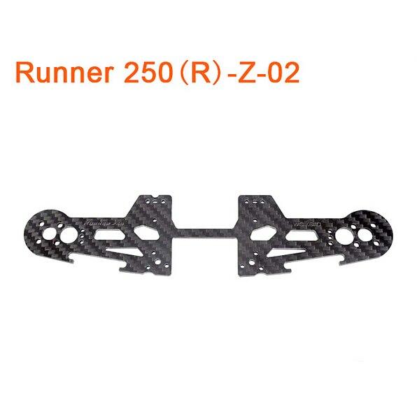 F16483 Original Walkera Runner 250 Advance Spare Part Front Motor Fixed Plate Runner 250(R)-Z-02