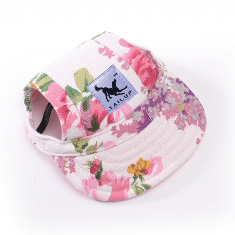 Sun Hat For Dogs Fashion Cute Pet Hund Casual Bomuld Baseball Cap - Pet produkter - Foto 3