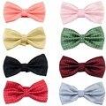 Fashion Men's Neck Ties Woven Paisley Adjustable Wedding Jacquard Bowties Tuxedo Quality pajaritas hombre noeud papillon men