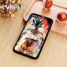 LvheCn Dragonball Dragon ball Z Sagas Kid Goku Phone Case Cover For iPhone 5s SE 6 6s 7 8 plus 10 X Galaxy S6 S7 edge S8 S9 plus(China)