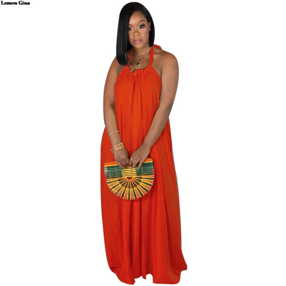fc9db92fd862e 2019 new women Gradient print halter neck sleeveless open back ...