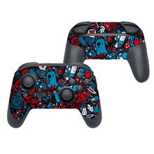 New Design Protector Cover For Nintendo Switch Pro Controller Skin Sticker Vinyl Decal