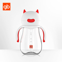 GB Baby Sippy Trainer Cup Bottle Cute Devil Outlook Natural Feel Transition Cup Baby Measurement Mark