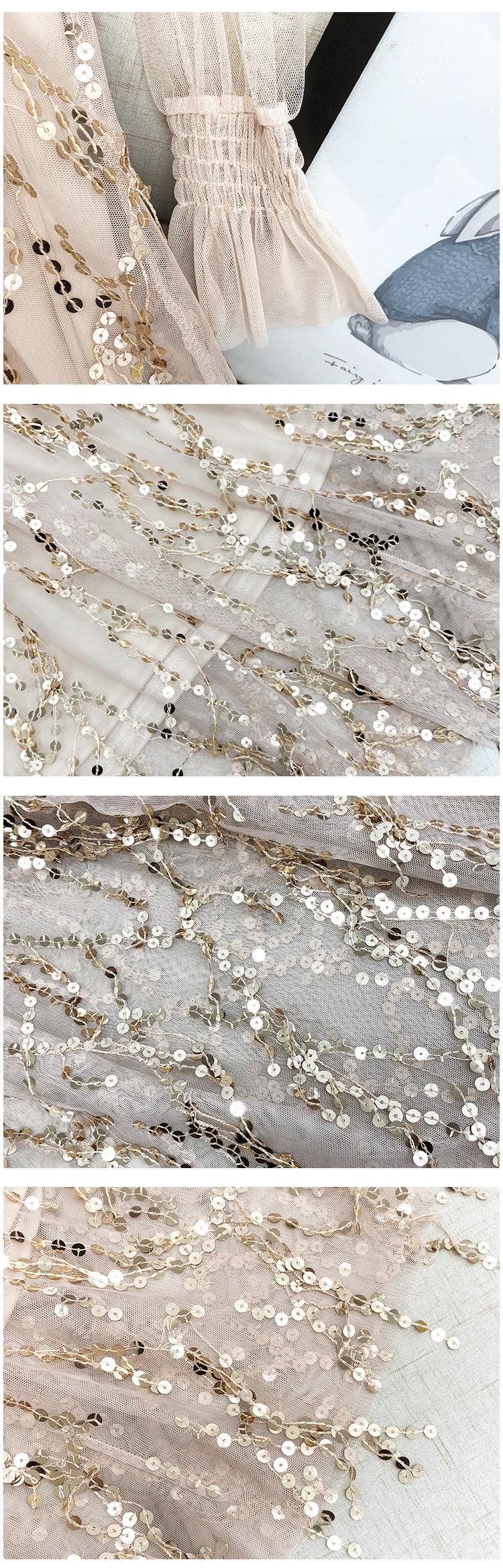 Sequins Elegant Party Dress 5