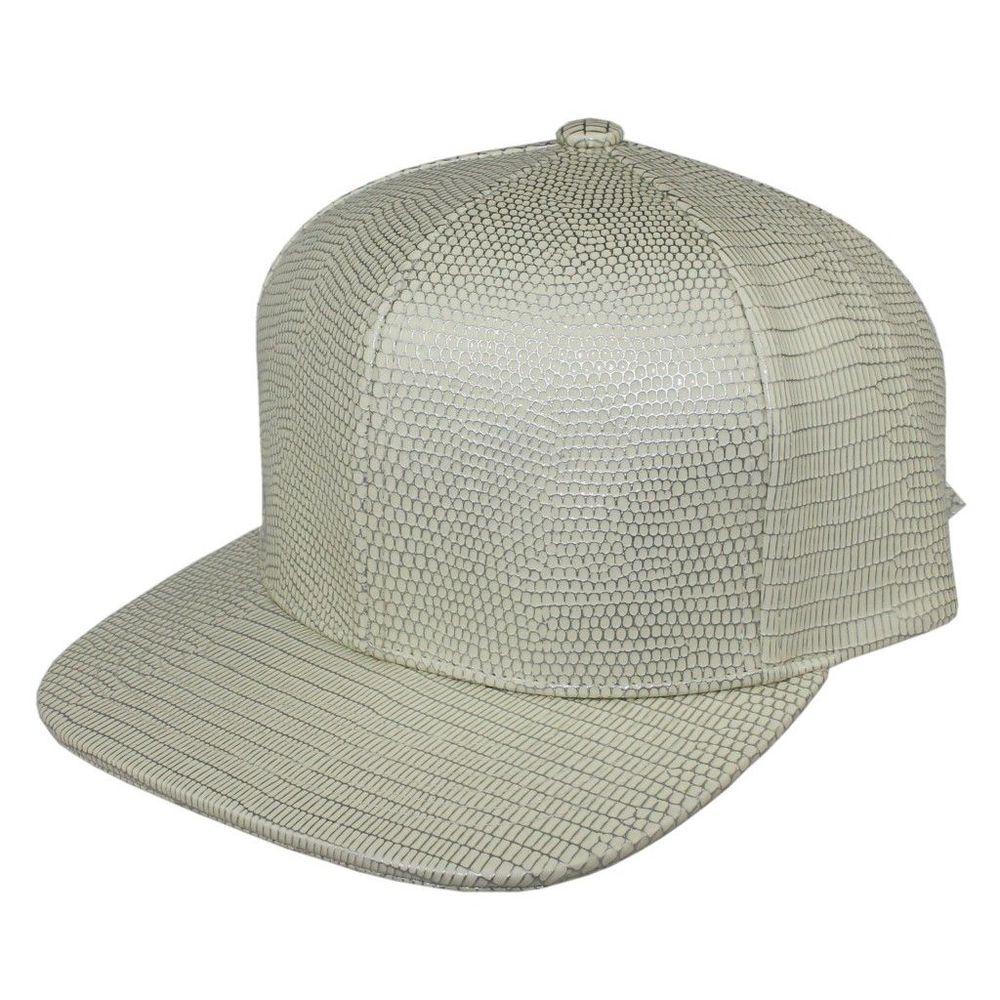 Высокое качество Bboy бейсбольная Кепка snapback шляпу Cabrite кожа Защита от Солнца шляпа летняя мужская и женская Повседневная Уличная Trukfit Шапки Ящерица шаблон - Цвет: Бежевый