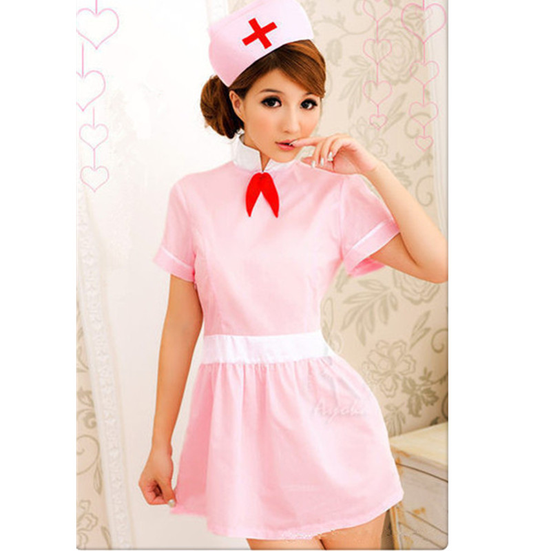 New fashion Hot sexy Exotic Backless Nurse Uniforms Temptation Nurse costume cosplay halloween dress sexy products