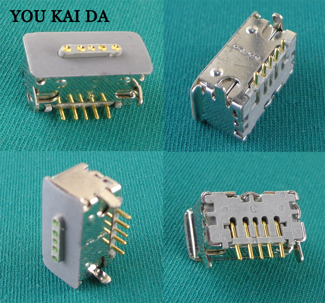 For Macbook Pro Unibody A1286 A1278 Magsafe Board Dc-in Power Jack 820-2565-A Fits For 2009 2010 2011 2012 Year 5X