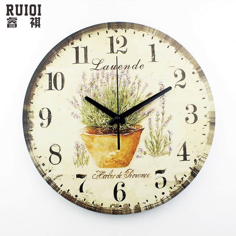 living room decoration wall clock mute wall clock vintage home decor large wall clock modern design shabby chic orologio parete