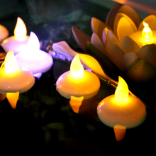 12pcs Waterproof tea light candle flameless LED candle for wedding party home decoration