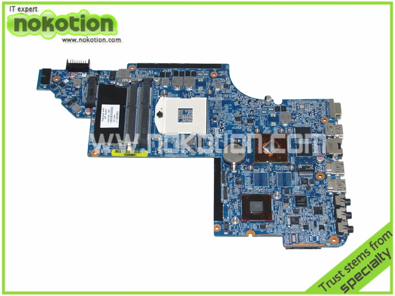 NOKOTION 659150-001 Laptop motherboard for HP DV6 DV6-6000 Intel intel HM65 DDR3 HD 6470M Graphics Mainboard 659095 001 laptop motherboard for hp dv7 6000 intel hm65 ddr3 ati hd 6770m graphics mainboard full tested