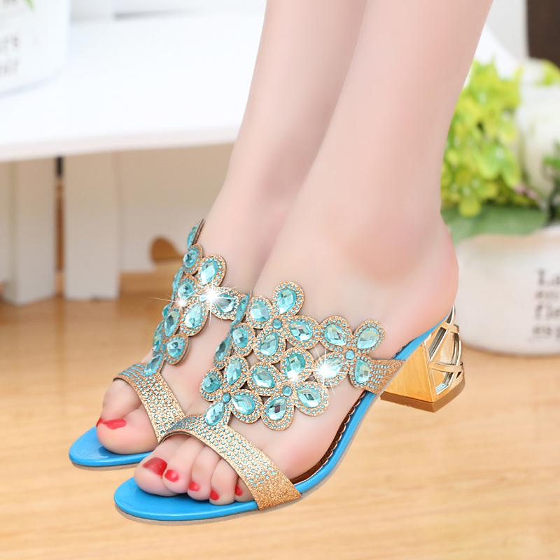 new 2017 fashion women big rhinestone cut outs high heel party sandals - free shipping! New Fashion Women Big Rhinestone Cut Outs High Heel Party Sandals – Free Shipping! HTB1v5KFRVXXXXcpXpXXq6xXFXXXr