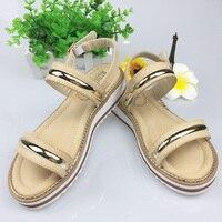 HEYIYI Women Casual Sandals Lightweight Wedge Platform Flat Heels Comfortable Soft Insole Buckle Strap Rome Beige
