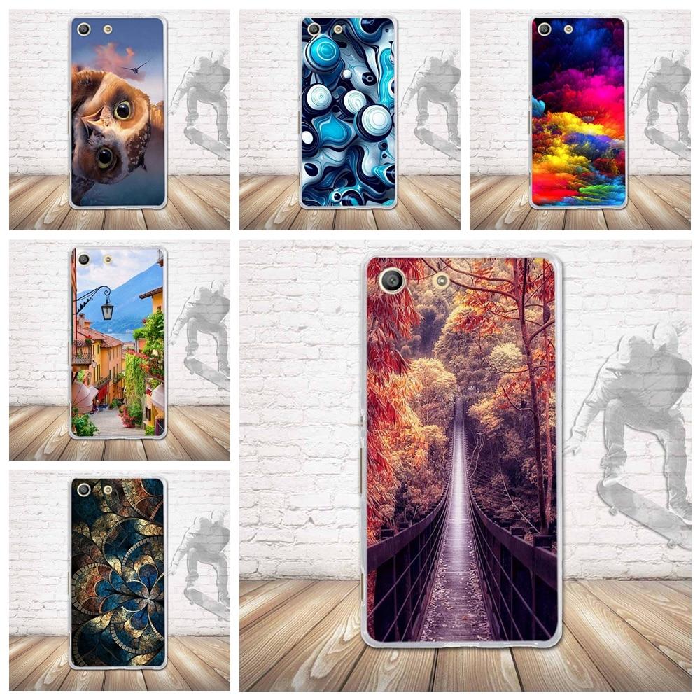 Case for Sony Xperia M5 E5603 E5606 E5653 Back Silicone Phone Cover for sony xperia m5 Soft TPU Shells For Sony Xperia M5 Fundas