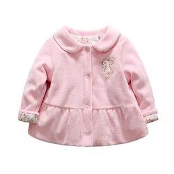 طفلة معطف الشتاء أرنب نمط تحذير الطفل أوزة أسفل الملابس الأزهار المطبوعة الثلوج ارتداء لعمر 0 إلى 12 أشهر