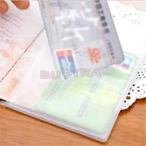 1 Pcs Baru 2019 Transparan Paspor Cover Tahan Air Tas Paspor Paspor Pelindung Lengan Kartu ID Pemegang