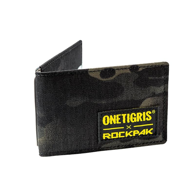 OneTigris ROCKPAK Card Holder EDC Pouch Minimalist Portable Purse Wallet Travel Kit Mini Purse