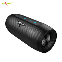ZEALOT S16 Portable Bluetooth Speaker Wireless Subwoofer Column 3D Stereo Sound Support TF Card AUX Built in Microphone