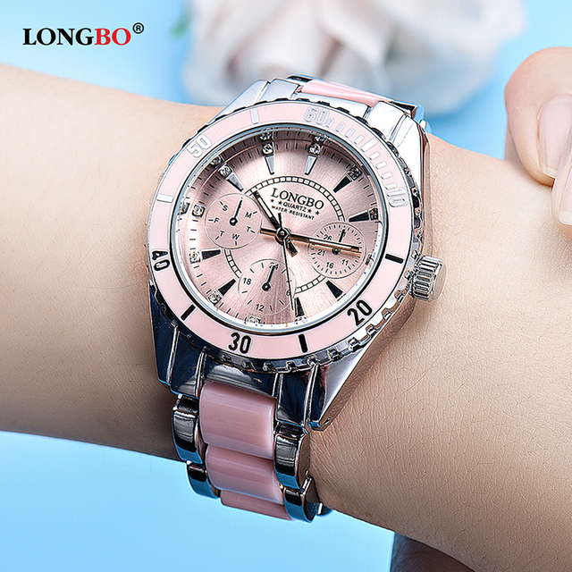 LONGBO Brand 2018 Hot Sale Luxury Women Watch Ladies Fashion Luminous Quartz Wat