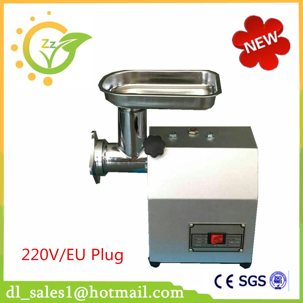 Newest 60 kg/hour 220v Electric CE Commercial Meat Grinder Meat Mincer Stainless Steel Electric Meat Grinder Machine 18 free ship 120kg hour 220v electric ce commercial meat grinder meat mincer stainless steel electric meat grinder machine