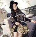 Women Brand Luxury 2015 Knitting Newest Women's Autumn Winter Fashion Gold National Wind Tassel Famale Scarves Wraps 185*70