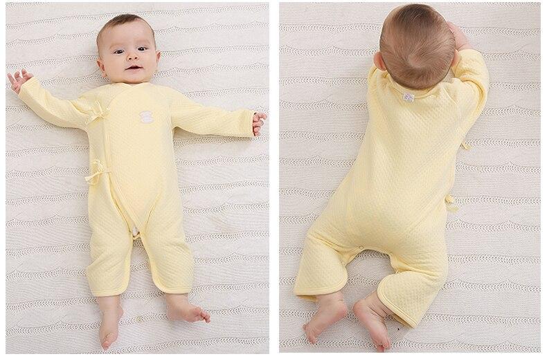 Pasgeboren kleding Baby Girl Jongen Romper Cartoon Lange mouw - Babykleding - Foto 3