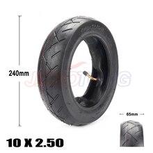 10 дюймов пневматическая шина 10x2,50 подходит для электрического скутера баланс привода шины велосипеда 10x2,5 надувные шины и внутренняя труба