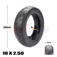 10 inch Pneumatic 10x2.50 Tire fits Electric Scooter Balance Drive Bicycle Tyre 10x2.5 inflatable Tyre and inner tube