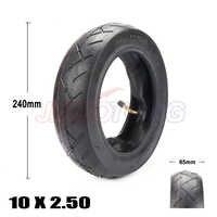 10 zoll Pneumatische 10x2,50 Reifen passt Elektrische Roller Balance Stick Fahrrad Reifen 10x2,5 aufblasbare Reifen und innenrohr