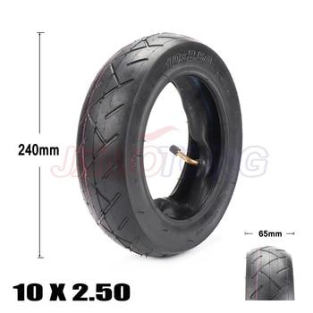 Neumático de 10 pulgadas, neumático 10x2,50 compatible con Scooter Eléctrico, Balance Drive, neumático de bicicleta 10x2,5, neumático inflable y tubo interno
