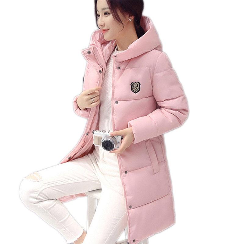 pink Nouveauté Feminina Veste Base Coton Black Manches Décontracté Chaud À Parkas Lh970 Femme 2019 red Jaqueta Manteau Longues Pour grey De Hiver Femmes dq1w7WaSW