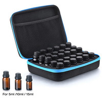 30 Bottle Essential Oil Case Carrying Holder 5ML10ML 15ML Perfume Oil Travel Storage Box Nail Polish