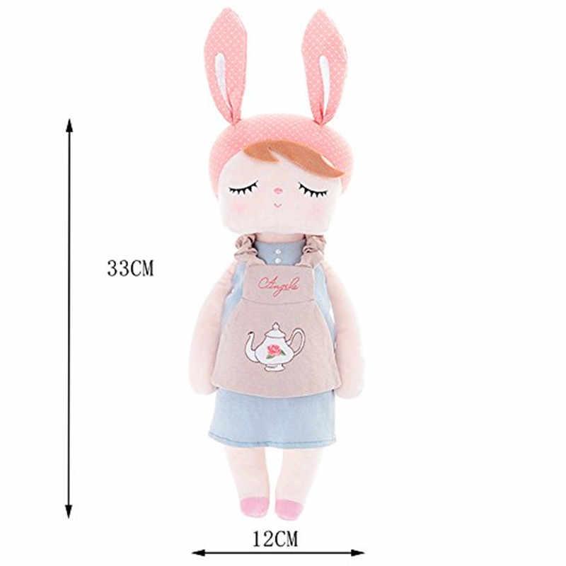 Каваи Анжела плюшевые игрушки кролика девушки мягкие куклы для младенцев детей подарки на день рождения Reborn Brinquedos Bebe