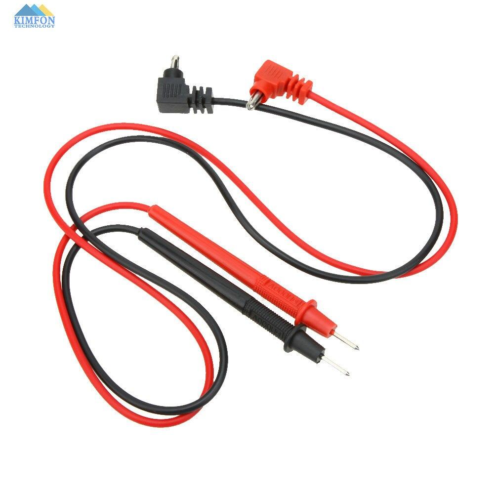 Free DHL Fedex 100pcs lot 2x Electric Probe Pen Detector Digital Multimeter Voltmeter Ammeter Cable Tester