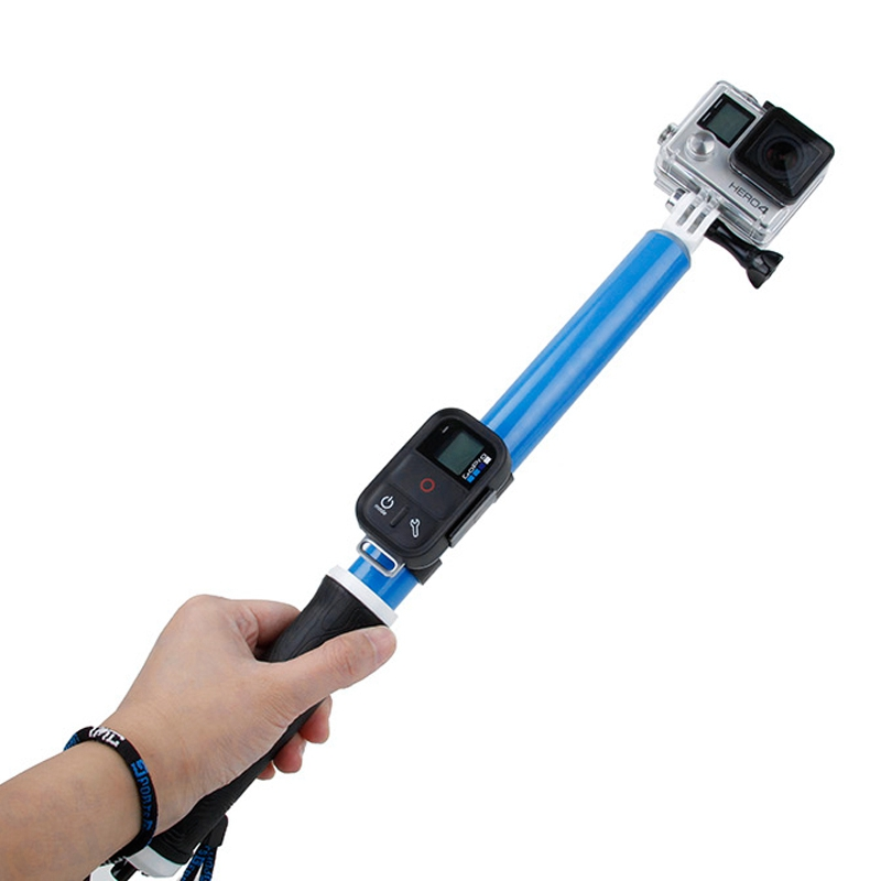 PHTICAL 41 Aluminum Waterproof Floating Selfie Stick For GoPro Hero 5 Session 4s 4 3 3