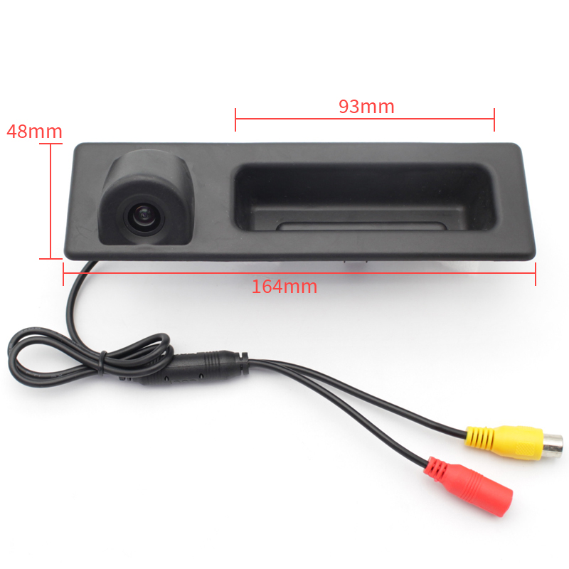 170 Degree SONYCCD Car Trunk Handle Rear View Reverse Camera For BMW 3 5 X3 Series F10 F11 F25 F30