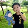 Bicho Jogos Educativos Peluches Burro Marioneta de Mano Para Niños Familia Titeres De Mano Del Bebé Juguetes 0-12 Meses de Gran títeres Oyuncak