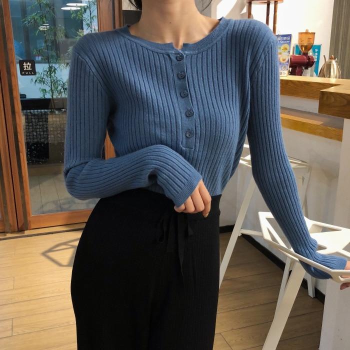 2019 New Women Sweaters Basic Women Clothing