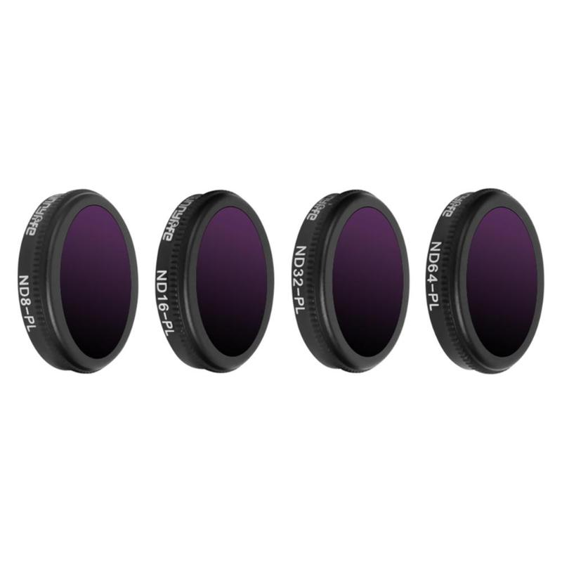 4 in 1 Varied Sunnylife ND-PL Camera Lens Filter Set for DJI MAVIC 2 Zoom Drone Accessory Camera Photo Lens Accessories 4