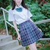 Japanese Preppy Style Pleated Skirt JK Uniform Ladies Girl S Lolita School Student Uniform Skirts High