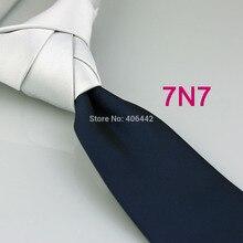 Галстуки Yibei coahella с белым узлом контрастный темно-синий двухцветный галстук в стиле пэчворк галстук в деловом стиле качественный галстук Gravata