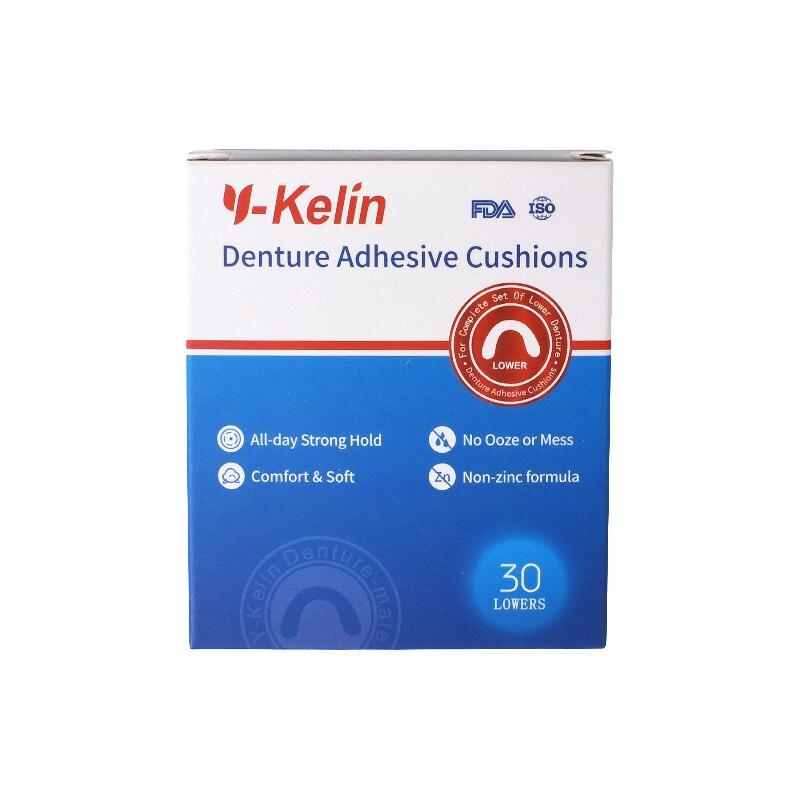 Y-Kelin protēžu adhezīvais spilvens (apakšējais) 30 ir maigas, - Mutes higiēna - Foto 2