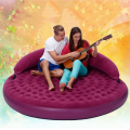 191X53cm Purple diameter circular inflatable air sofa bed adult sex furnitures love making beds furnitures for couples games
