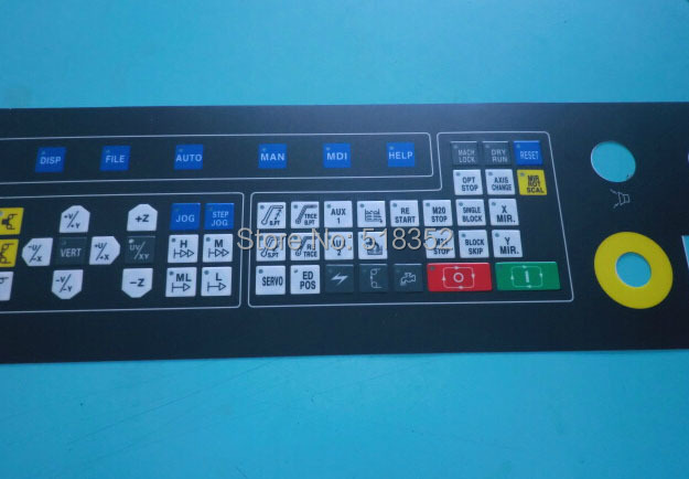 Chmer Original Operation Panel Control Panel Button/ Key Board, WEDM Low Speed Wire Cut Machine Electrical Parts