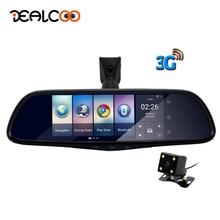 Dealcoo Car DVR Camera Mirror 3G Special Auto 7″ Android 5.0 Dash Cam Full HD 1080P Video Recorder Bluetooth Auto Registrar DVRs
