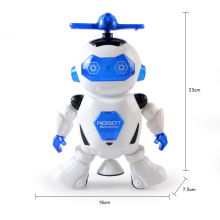 360 Rotating Smart Space Dance Robot Electronic Walking Toys with Music Light for Kids Astronaut Toy Christmas Birthday Gift new 360 degree rotation smart space electric robot dancing music light toy children gift sell hotting