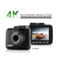 GS63H Car Dash Cam 4K 2880x2160P Auto Dash Camera Dashcam With WiFi GPS G Sensor Loop Recording Parking Monitoring Car Camera