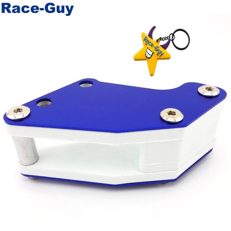 Race-Guy Rear Swingarm Chain Guide For Chinese Pit Dirt Trail Bike Motorcycle 50cc 90cc 110cc 125cc 140cc 150cc