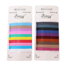 Get more info on the 20pcs 6cm Hair Clips for Hair Accessories Tools Wide Clip Hairpins Color Metal Curly Barrettes Flat Bobby Pins for Women Girls