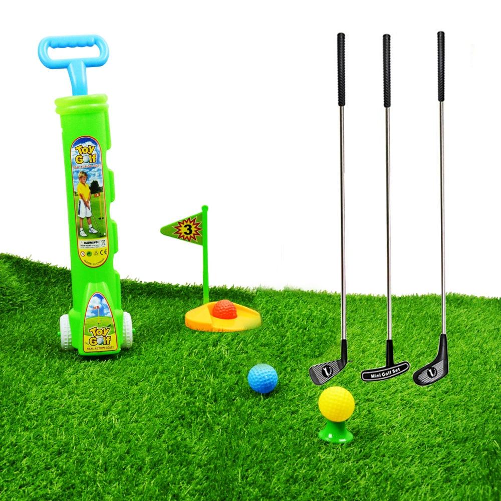 플라스틱 클럽 골프 놀이 세트 장난감 실내 옥외 - 야외 재미와 스포츠
